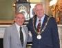 UIS President Paul Loftus meets Lord Mayor of Dublin Nial Ring